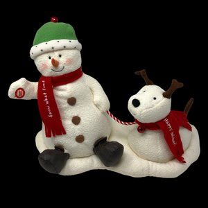 Hallmark Jingle Pals 2004 Snowman Singing Plush